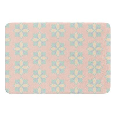 Pattern #1 by Deepti Munshaw Bath Mat Size: 17W x 24L