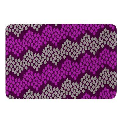 Pattern #2 by Deepti Munshaw Bath Mat Size: 17W x 24L