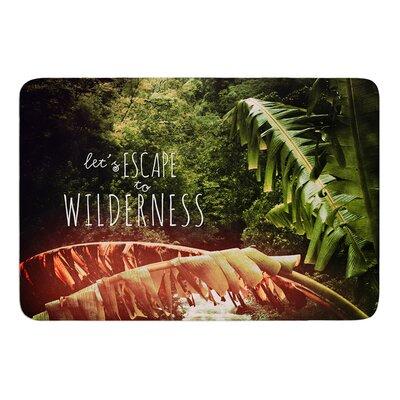 Escape to Wilderness by Deepti Munshaw Bath Mat Size: 24 W x 36 L