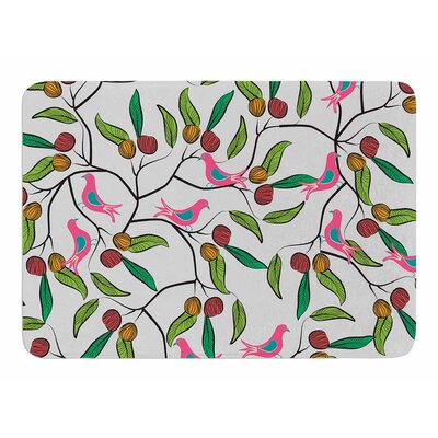 Birds World by Famenxt Bath Mat