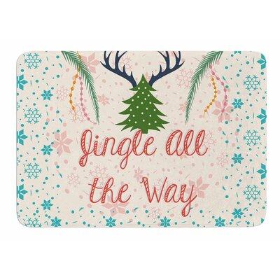 Jingle All The Way Bath Mat