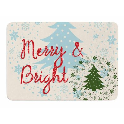 Merry And Bright Bath Mat