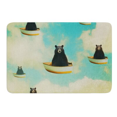 Bears by Natt Bath Mat Size: 24 W x 36 L