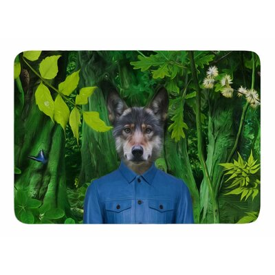 Into The Leaves N3 by Natt Bath Mat
