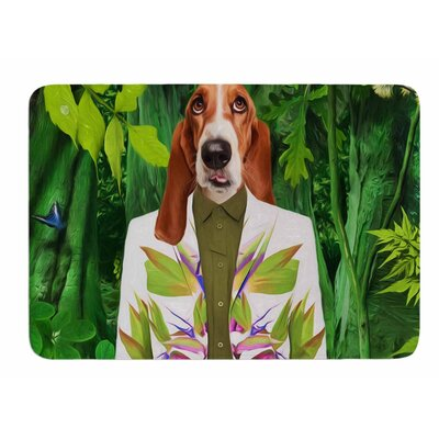 Into The Leaves N5 by Natt Bath Mat