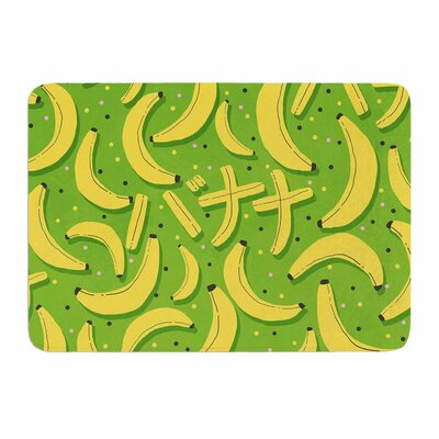 Banana Pattern by Strawberry Memory Foam Bath Mat