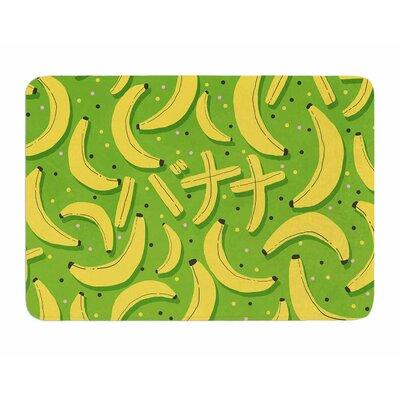 Banana Pattern by Strawberry Memory Foam Bath Mat