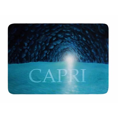 The Grotto of Capri by Theresa Etiologic Memory Foam Bath Mat