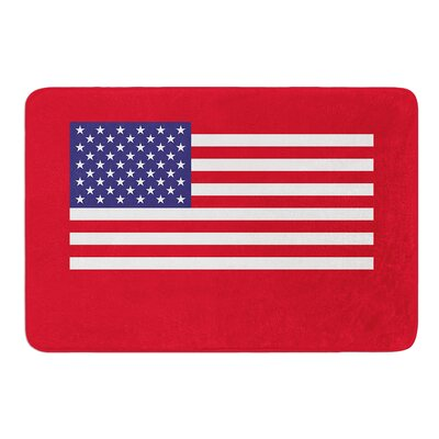 Flag of USA by Bruce Stanfield Memory Foam Bath Mat