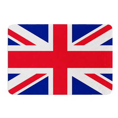Classic Union Jack by Bruce Stanfield Memory Foam Bath Mat