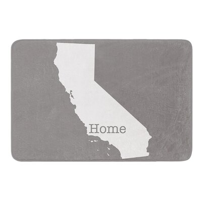 California is Home by Bruce Stanfield Memory Foam Bath Mat