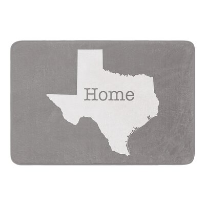 Texas is Home by Bruce Stanfield Memory Foam Bath Mat