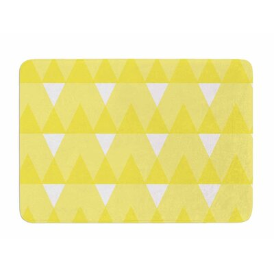 Triangles by Jackie Rose Memory Foam Bath Mat