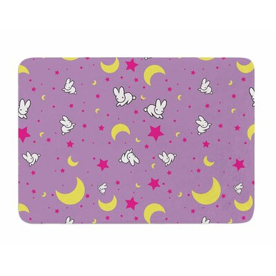 Goodnight Usagi by Jackie Rose Memory Foam Bath Mat
