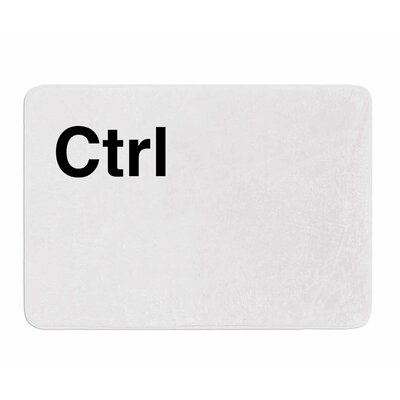Ctrl by Jackie Rose Memory Foam Bath Mat