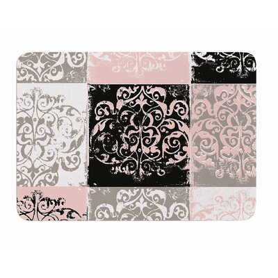 Damaskmix by Chickaprint Memory Foam Bath Mat