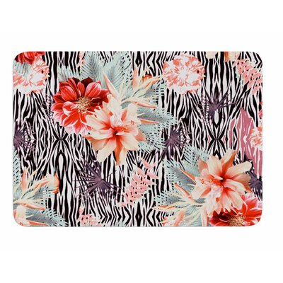 Tropical Fusion by Nika Martinez Memory Foam Bath Mat
