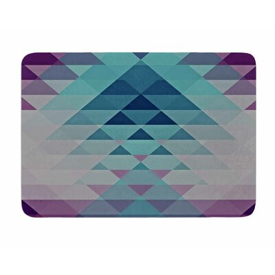 Hipster Girl by Nika Martinez Memory Foam Bath Mat