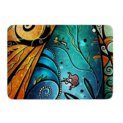 You Must Believe by Mandie Manzano Memory Foam Bath Mat