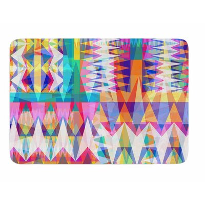 Triangle Collage by Miranda Mol Memory Foam Bath Mat