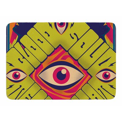 Blood Sweat Tears and Soul by Robber Memory Foam Bath Mat