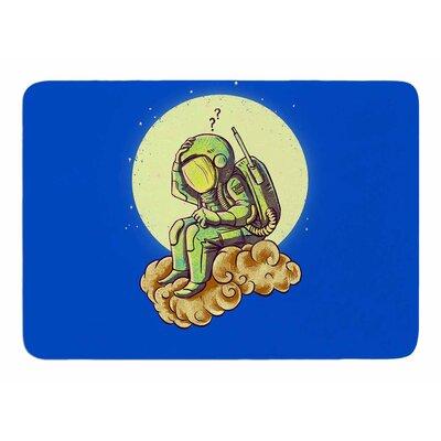 Why in the Cloud by Banjarmasin Memory Foam Bath Mat