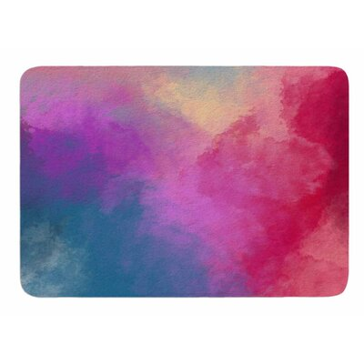 Abstract 01 by Vivian Gonzalez Memory Foam Bath Mat