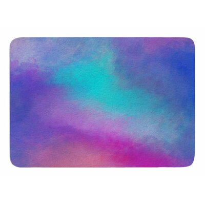 Abstract 02 by Vivian Gonzalez Memory Foam Bath Mat