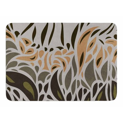 Africa Abstract II by Vivian Gonzalez Memory Foam Bath Mat