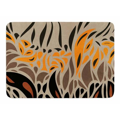 Africa Abstract I by Vivian Gonzalez Memory Foam Bath Mat