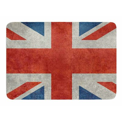 UK Union Jack Flag by Bruce Stanfield Memory Foam Bath Mat
