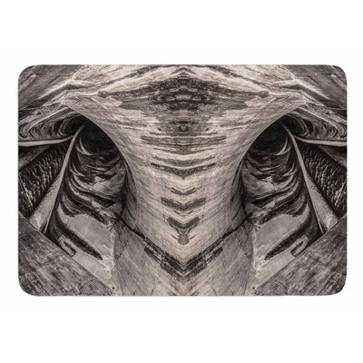 Dam Reticulation the Void by Bruce Stanfield Memory Foam Bath Mat