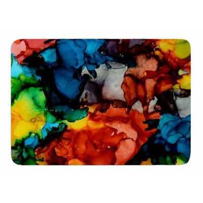 Fun Loving by Claire Day Memory Foam Bath Mat