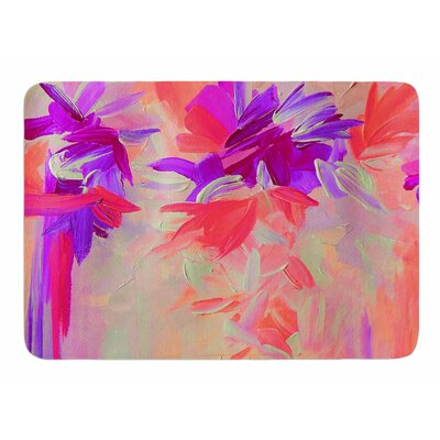 Deconstructing the Garden 3 by Ebi Emporium Memory Foam Bath Mat