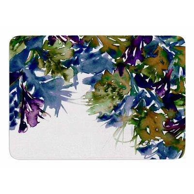 Floral Cascade 4 by Ebi Emporium Memory Foam Bath Mat