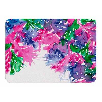 Floral Cascade 1 by Ebi Emporium Memory Foam Bath Mat