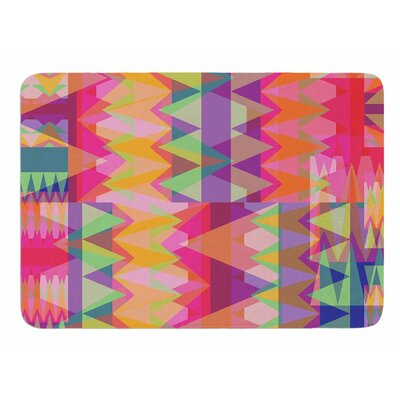 Triangle Fun by Miranda Mol Memory Foam Bath Mat