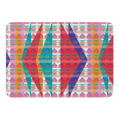 Triangle Illusion by Miranda Mol Memory Foam Bath Mat