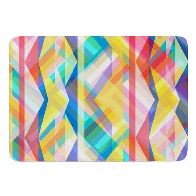 Triangle Rhythm by Miranda Mol Memory Foam Bath Mat