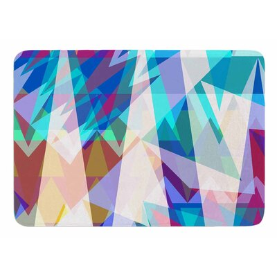 Triangle Party by Miranda Mol Memory Foam Bath Mat