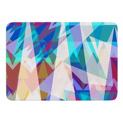 Triangle Party by Miranda Mol Memory Foam Bath Mat