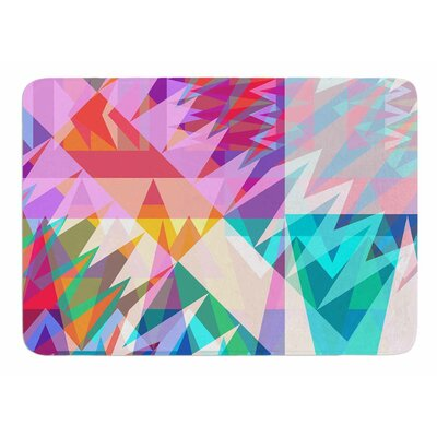 Triangle Feast by Miranda Mol Memory Foam Bath Mat