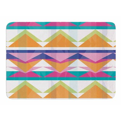 Triangle Waves by Miranda Mol Memory Foam Bath Mat