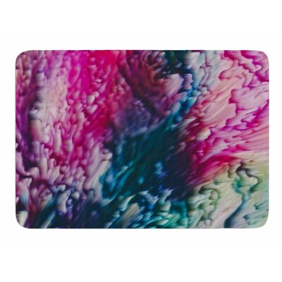 Splash Abstract Ink by Malia Shields Memory Foam Bath Mat