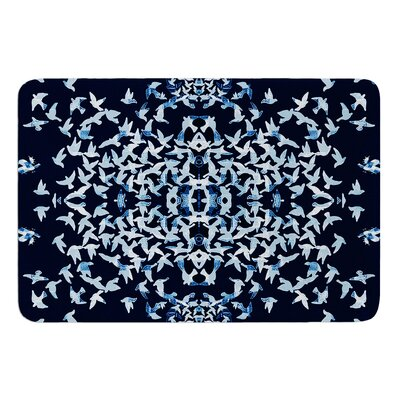 Night Birds by Marianna Tankelevich Memory Foam Bath Mat