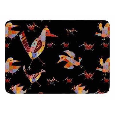 Birds by Marianna Tankelevich Memory Foam Bath Mat