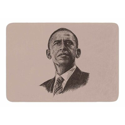 Barack Obama by Banjarmasin Memory Foam Bath Mat