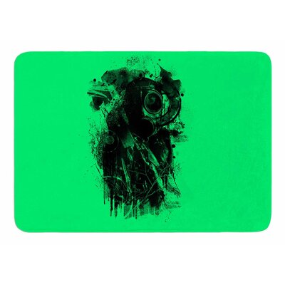 Gas mask by Banjarmasin Memory Foam Bath Mat