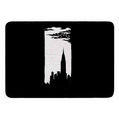 Chrysler Building by Banjarmasin Memory Foam Bath Mat