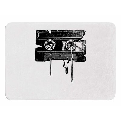 Cassette Memories by Banjarmasin Memory Foam Bath Mat